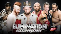 WWE Elimination Chamber 2015 - Elimination Chamber match - WWE Intercontinental Championship