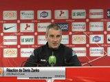 (J35) Brest 0-0 Laval, réaction de D.Zanko