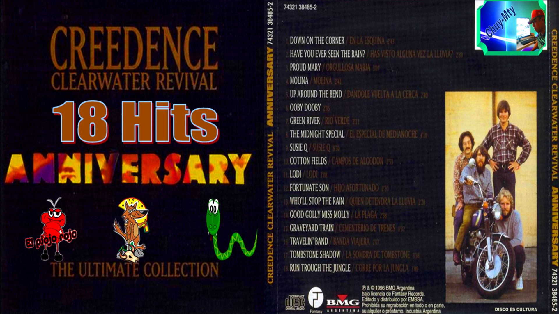 Creedence Clearwater Revival Anniversary 18 Hits Lo mejor mix