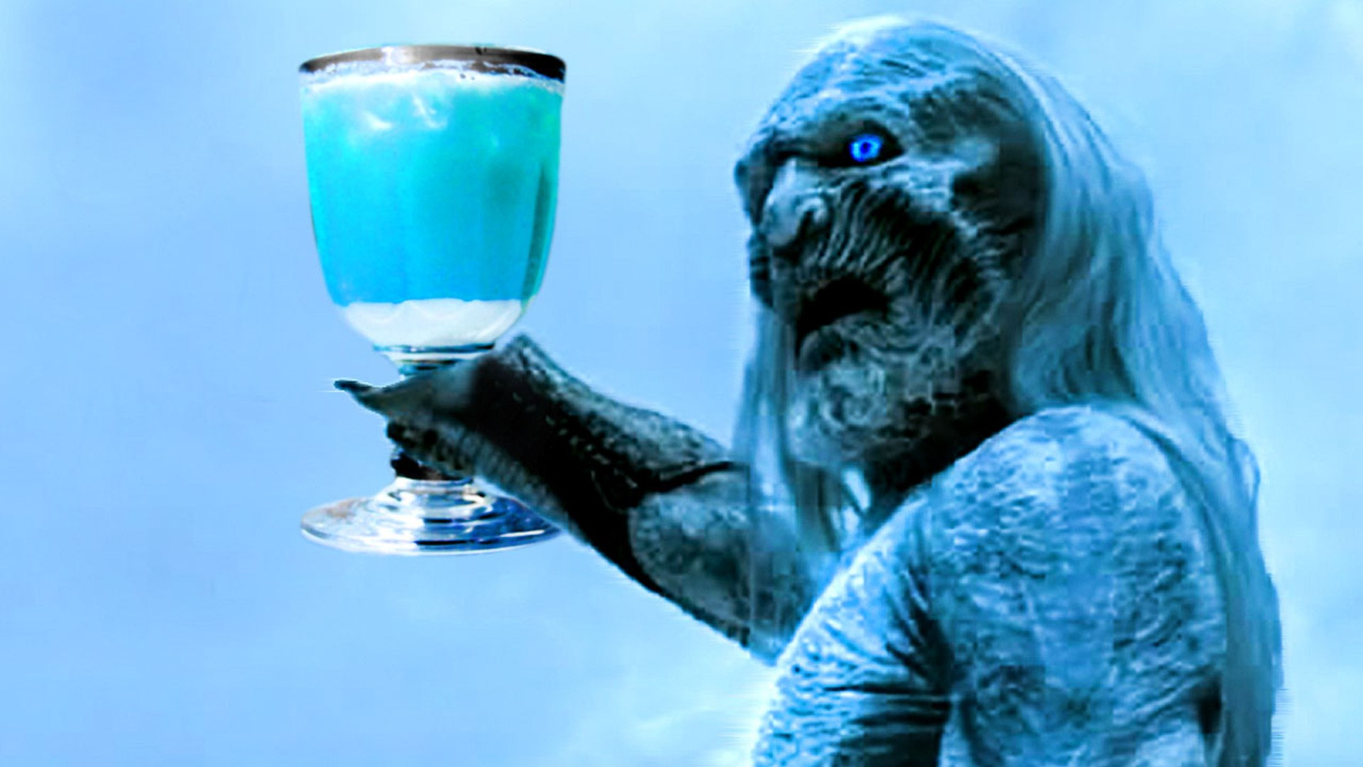 'Game of Thrones' White Walker Cocktail, Winter is Coming!