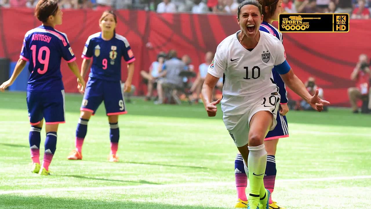 Women's World Cup Final USA vs Japan Highlights update July 2015