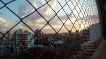 Buenos Aires por la ventana en time lapse con Go Pro Black