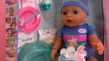 Baby Born Boy Puppe français – Petit bébé pour jouer – Avec biberons et vêtements unboxing