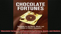READ FREE Ebooks  Chocolate Fortunes The Battle for the Hearts Minds and Wallets of Chinas Consumers Online Free