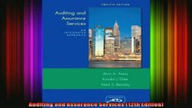 READ book  Auditing and Assurance Services 12th Edition Free Online