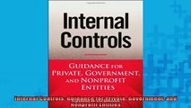 READ book  Internal Controls Guidance for Private Government and Nonprofit Entities Full EBook