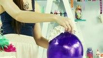 Elle recouvre son ballon de gelée de pétrole! Son astuce bricolage est BRILLANTE!