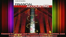 FREE EBOOK ONLINE  Financial Accounting with Questions Exercises Problems Case Problems Cases and Thomson Free Online