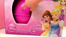 Œuf surprise robe Princesse Disney – Blanche neige, la Belle au bois dormant et Raiponce