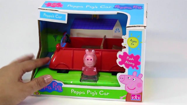 Peppa Pig's Car Playset  with Grandpa Pig and his big boat