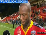 Bruce Djite Post Game Interview   Adelaide United 4 1 Melbourne City   Semi Final