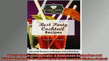 Free PDF Downlaod  Best Party Cocktail Recipes A Homemade Bartenders and Mixologists Guide to Mixed Drinks READ ONLINE