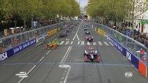 Le départ du ePrix de Paris - Canal + Sport
