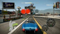 NFS Shift 2 Unleashed Drift Gameplay + Replay with Shelby Cobra on Toyota Irwindale Drift Course 2