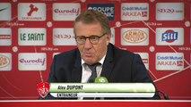 Réaction d'Alex Dupont après Stade Brestois 29 - Stade Lavallois