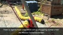Longest ever drug tunnel found on Mexico-California border