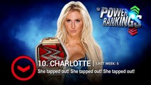 Cesaro swings up and Charlotte takes a hit on WWE Power Rankings- April 23, 2016
