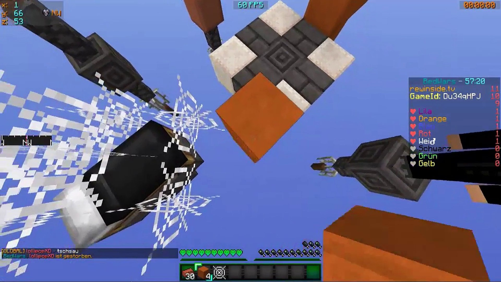 Minecraft Bedwars | info Video | enndlich wieder Videos!