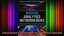 READ Ebooks FREE  Modern Analytics Methodologies Driving Business Value with Analytics FT Press Analytics Full Ebook Online Free