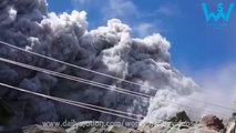 Japan Mount Ontake volcano eruption caught close