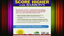 DOWNLOAD FREE Ebooks  Barrons Police Officer Exam 9th Edition Full Free