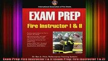 READ book  Exam Prep Fire Instructor I  II Exam Prep Fire Instructor 1  2 Full EBook