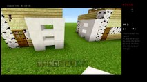 MInecraft (PlayStation, Xbox & Pocket Edition) How to build a SMALL 6x6 modern house!