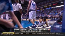 Kevin Durant Ejected for a Flagrant-2 Foul