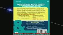 READ FREE FULL EBOOK DOWNLOAD  Praxis II Mathematics 0065 and 5161 Full Free