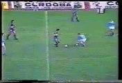 Gol de Cabañas a Belgrano (Boca 1-Belgrano 1 28-02-93)