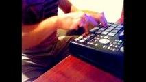 HD: Live Improv Finger Drumming MPC 1000 : Hip Hop : Andrew John Beaton * Dope must watch