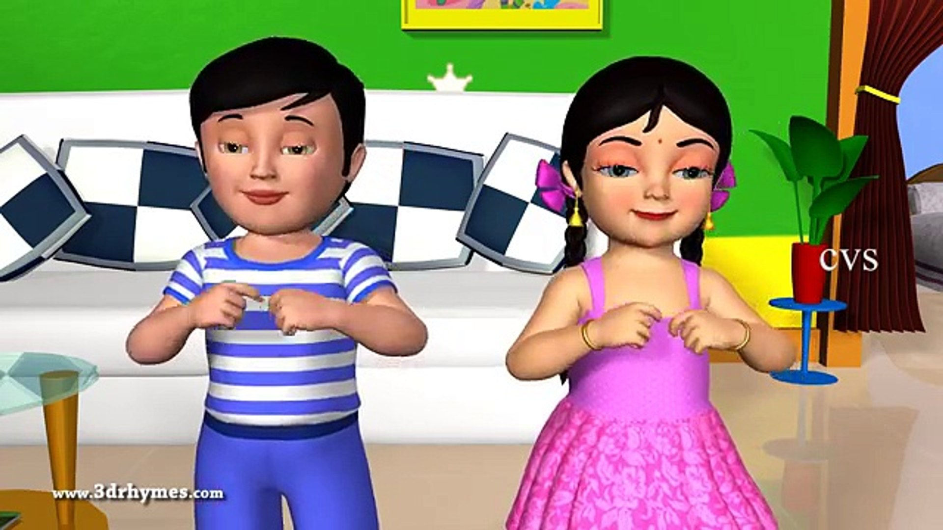 Learn Body Parts In song-Nursery Rhymes-Kids Song-Kids Video
