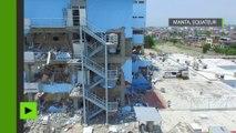 Les ruines de la ville équatorienne Manta après le séisme meurtrier (images aériennes)
