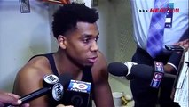 Hassan Whiteside Postgame Interview | Heat vs Hornets | Game 3 | April 23, 2016 | 2016 NBA Playoffs