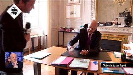 Caméra embarquée avec Alain Juppé - Le Supplément du 24/04 - CANAL+