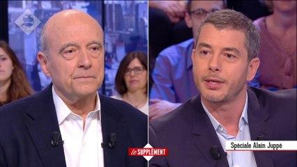 Face à face : Alain Juppé - Le Supplément du 24/04 - CANAL+