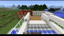 Tuto Minecraft Maison De Luxe Moderne Construction