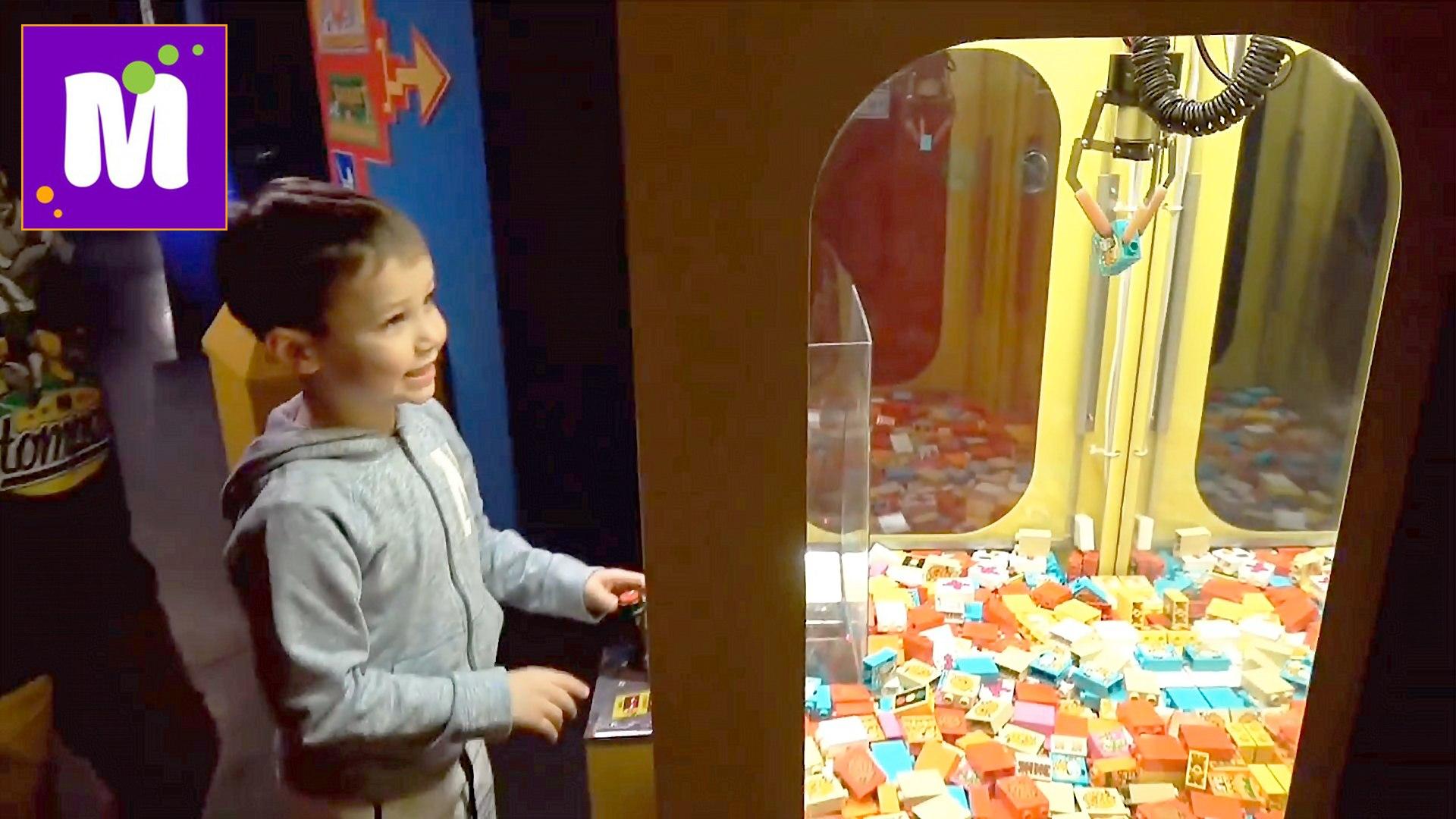 Германия #8 Леголенд Берлин новые игрушки в ToysRus и МакДональдс ВЛОГ Макс и Катя VLOG Legoland new