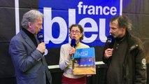 """Olivier Henry Dancy photographe et Serge Damini éditeur, invités de France Bleu Lorraine pour le livre """"Nancy Éternelle"""""""