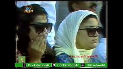West Indies Vs Pakistan Waqar Younis  Unbelievable Final Over To  Ian Bishop By Circket World