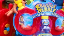 Paddle BUBBLE Kids Game CHALLENGE FUN Bounce Toy Play Bubbles Tennis Ping Pong Style Family Fun