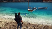 Just Cause 3 LOST SMOKE MONSTER Easter Egg! (Just Cause 3 Easter Eggs)