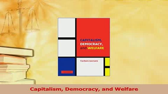 Read  Capitalism Democracy and Welfare Ebook Free