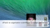 Utilisation de canvas dans un ebook en format epub3 de vulgarisation scientifique