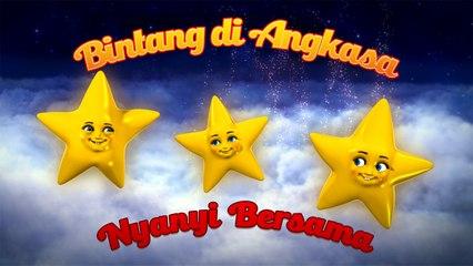 """Bintang Di Angkasa"" (Nyanyi Bersama) - Nursery Rhymes"
