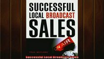 FREE PDF  Successful Local Broadcast Sales  FREE BOOOK ONLINE