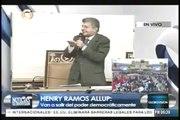 Henry Ramos Allup le dice Diosdado Cabello: Diosdado tu estas Muerto