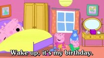 Learn english through cartoon | Peppa Pig with english subtitles | Episode 69: My birthday Party