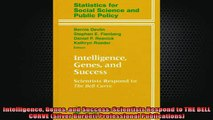 READ book  Intelligence Genes and Success Scientists Respond to THE BELL CURVE Silver Burdett Online Free