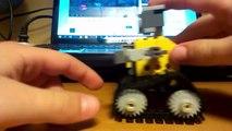 Jak zbudować LEGO Wall e część 2